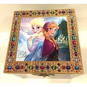 Generic Disney Parks Frozen Elsa Anna Musical Jewelry Box