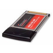 Intellinet Wireless Super G PCMCIA Adapter,Up to