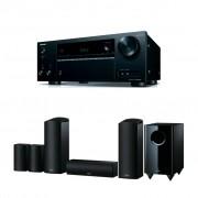 Pachet Receiver AV Onkyo TX-NR555 + Boxe Onkyo SKS-HT588