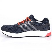 adidas Men's Galaxy Elite 2 M Grey, Silver and Red Mesh Sport Running Shoes - 10 UK