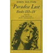 Paradise lost Books III-IV - John Milton - Livre