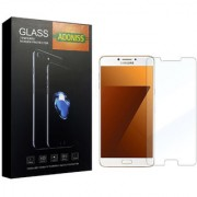 Adoniss 0.3mm Full Flexible Mobile Tempered Glass Protector (Pack of 1) for Samsung C9 Pro