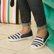 Naisha Women Black Casual Shoes