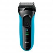 Aparat de barbierit Braun 3040 B3, rezerva 32B, Negru/Albastru