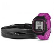 Garmin Zegarek sportowy z GPS GARMIN Forerunner 25 HRM Czarno-fioletowy 010-01353-70