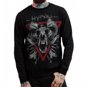 pulóver (kapucni nélkül) férfi - Devil Inside - HYRAW - HY104