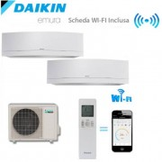 Daikin Climatizzatore/Condizionatore Daikin Dualsplit Parete 2MXS40H + FTXG25LW + FTXG25LW