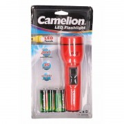 Camelion Zaklamp Superbright rood 19 cm - Kinder zaklampen