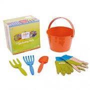 Twigz My First Gardening Tools Box Set - Orange Bucket