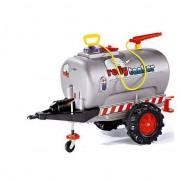 Remorca-cisterna Rolly Trailer Tanker pe o axa, gri