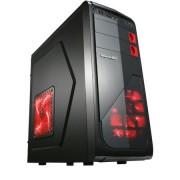 Sistem PC Desktop Gaming cu Procesor Intel Quad-Core i5-4570, 8GB DDR3, 128GB SSD + 500GB HDD, Placa video dedicata AMD ATI Radeon R7 370 4GB