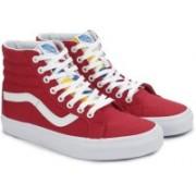Vans SK8-HI REISSUE High Ankle Sneakers For Men(Red)