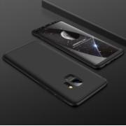 Husa Samsung Galaxy S9 Plus FullBody Elegance Luxury Negru 360 grade + folie de protectie gratis