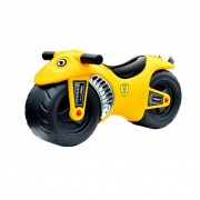 Lábbal hajtós motorkerékpár, sárga