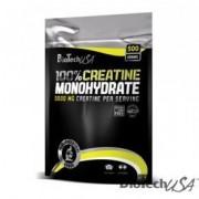 BioTech USA 100% Creatine Monohydrate por - 500g zacskós