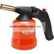 Gáz forrasztó lámpa, fém házas piezzo Extol Premium