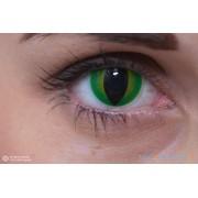 ColourVUE Crazy Dragon's Eye Verde (2 pz), Lenti cosmetica colorata