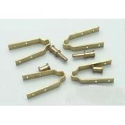 Balamale din alama pentru carma 5-6 mm (2 buc)