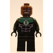 Lego Custom Printed Green Lantern John Stewart Minifig DC Comics Super Hero Justice League