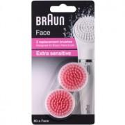 Braun Face 80-s Extra Sensitive cabeça refill 2 pçs