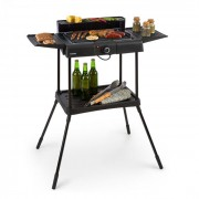 Klarstein Dr. Beef Pro, grill electric, 2000W, grătar antiaderent, mese laterale (GQR8-Dr.Beef -III)