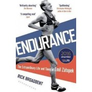 Bloomsbury Publishing Endurance : The Extraordinary Life and Times of Emil Zatopek - Rick Broadbent