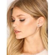 Marc Jacobs Flat Pearl Star Studs Örhängen Silver