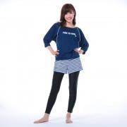 FILA(フィラ)/水陸両用ブラキャミ・Tシャツ・ショートパンツ・レギンス4点セット