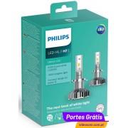 Philips Ultinon LED H7 LED 6200K 11972ULWX2 ( 2 lâmpadas LED )