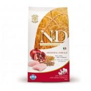 N&D Low Grain Adult Pui si Rodie - 12 Kg