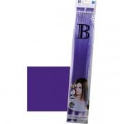 Balmain Fill-In Extensions Straight Fantasy Fiber Hair Dark Purple