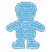 Hama Maxi Pärlplatta 8208 Pojke Transparent - 1 st