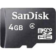 SanDisk class 4 4 GB MicroSDHC Class 4 20 MB/s Memory Card