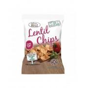 Eat Real Lencse Chips Paradicsom Bazsalikom 40 g