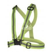 Ham bretele reflectorizante elastice, constructii, ciclism, sport