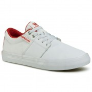 Teniși SUPRA - Stacks Vulc II 08029-148-M White/Red/White