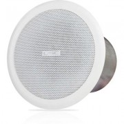 "QSC 4"""" Ceiling speaker 70/100 with 8ohm bypass, W/ Mounting Hw."