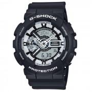 Reloj casio g-shock GA-110BW-1A para hombre - negro y gris