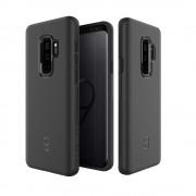 Patchworks Level ITG Case - хибриден удароустойчив TPU калъф за Samsung Galaxy S9 Plus (черен)