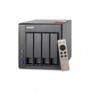 QNAP NAS TOWER 4BAY 2,5 3,5 SATA2 SATA3 2,4GHZ QUAD CORE 2GB (MAX8GB) 2XGBE 2XUSB3.0 2XUSB2.2