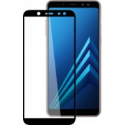 Folie de protectie Samsung Galaxy A6 Plus 2018 / Samsung Galaxy A6+ 2018 Folie sticla securizata 3D Negru FULL SCREEN Tempered Glass