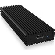 Icy Box USB Type-C ház M.2 NVMe SSD-hez
