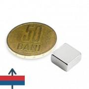 Magnet neodim bloc 10 x 10 x 5 mm