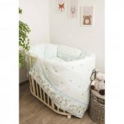 Сонный гномик Комплект в кроватку Сонный гномик Оленята с бортами-подушками (6 предметов)