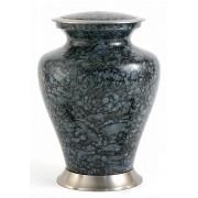 Grote Messing Glenwood Gray Marble Urn (3.3 liter)