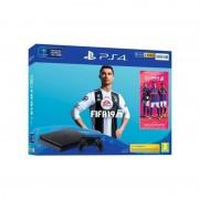 Consola Sony Playstation 4 Slim 500GB cu joc FIFA 19