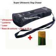 Aparat cu ultrasunete impotriva cainilor Super Ultrasonic DogChaser