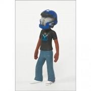 Mc Farlane Toys Action Figure Halo Avatar Figures Series 2 Blue Jfo Helmet (2.5 Inch)