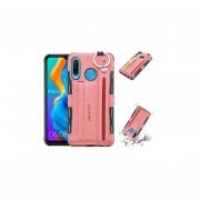 Para Huawei P30 Lite Estuche para tarjeta de cordón todo incluido