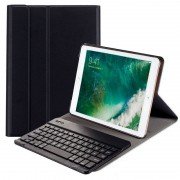 Cool Funda Negra con Teclado Bluetooth para iPad Air/Air 2/Pro 9.7/iPad 2017/IPad 2018